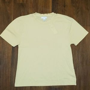 Topshop yellow distressed t shirt new
